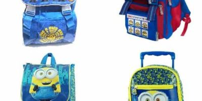 Zaini e Trolley Scuola Minions
