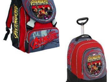 Zaini e Trolley Scuola Avengers