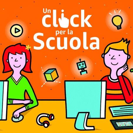 """Amazon: torna l'iniziativa """"Un Click per la Scuola"""""""