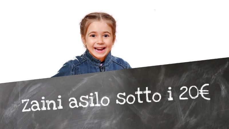 Migliori Zaini Asilo a meno di 20 euro